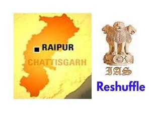 chhattisgarh-major-bureaucratic-reshuffle-effected-dr-m-geetha-as-rc-new-delhi