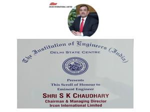ircon-cmd-receives-eminent-engineer-award