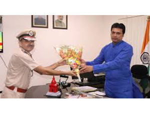 tripura-v-s-yadav-gets-two-years-fixed-term-as-dgp
